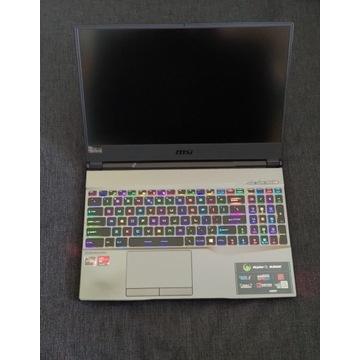 MSI Alpha 15 A3DDK RYZEN 7 16GB 512SSD RX5500 RGB