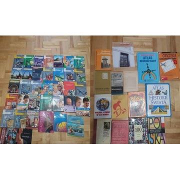 Podręczniki, książki ponad 50 sztuk LICYTACJA.