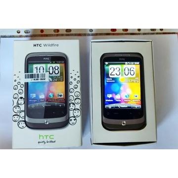 HTC Wildfire A3333 + 2GB SD pudelko