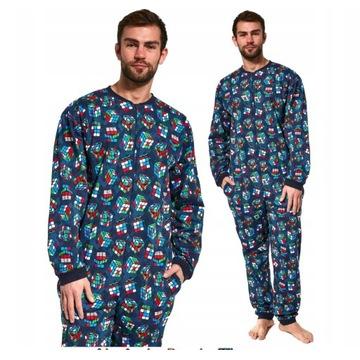 Cubes Cornette piżama męska kombinezon XXL