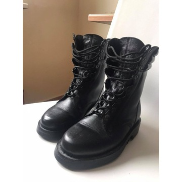 Buty trepy wojskowe