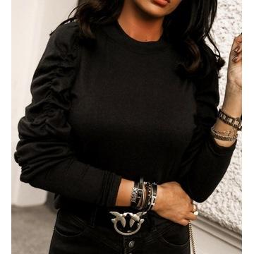 czarny sweterek Chelsey rozmiar S