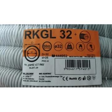 Rura karbowana RKGL fi: 32/25 z pilotem 320N UV