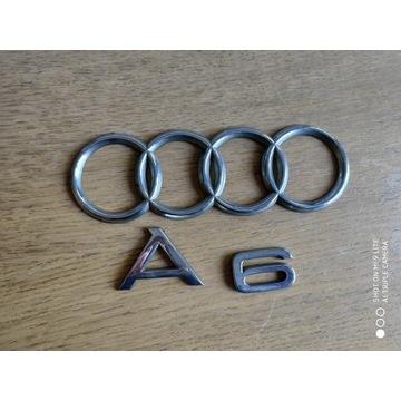 logo emblemat Audi A6