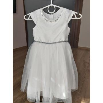 Sukienka wizytowa Cool Club 104 biała