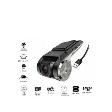 Rejestrator jazdy DVR USB