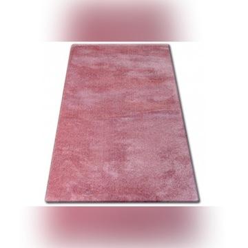 Różowy dywan Shaggy Flokati włochacz 190x290