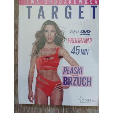Target trening na płaski brzuch Chodakowska. Folia