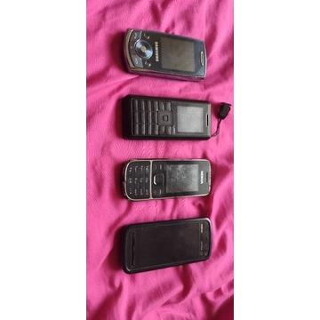 MIX 4 telefonów