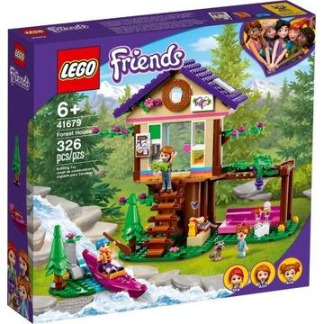 NOWY LEGO Friends 41679 Leśny domek