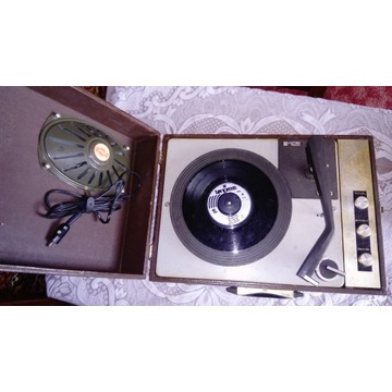 Adapter Unitra Fonica z płytą The Beatles