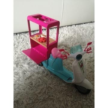 Barbie pojazd skuter