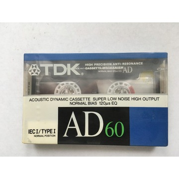 Kaseta magnetofonowa TDK AD 60