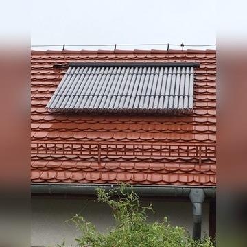 Solary do podgrzewania ciepłej wody.