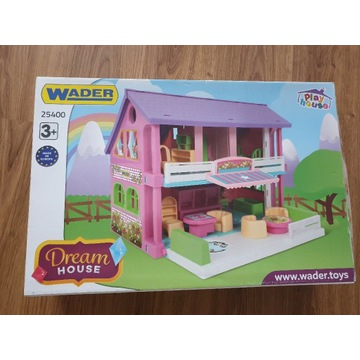 Domek dla lalek Wader 25400 NOWY