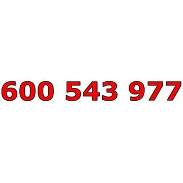 600 543 977 T-MOBILE ŁATWY ZŁOTY NUMER STARTER