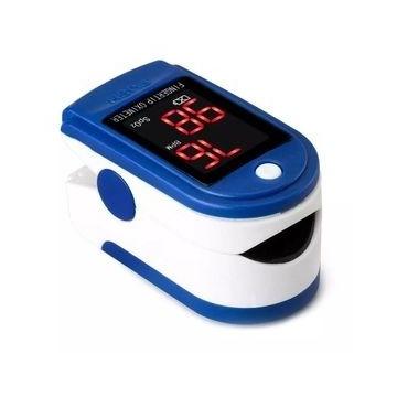 Pulsoksymetr napalcowy medyczny pulsometr ZESTAW