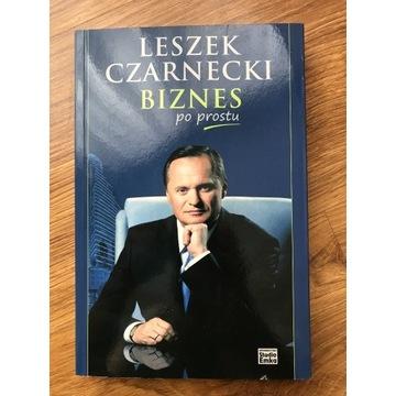 Leszek Czarnecki Biznes po prostu z autografem