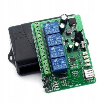 Przełącznik Wifi+RF 4kanały eWelink KTN4CHW