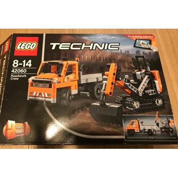 Lego Technic 42060, używany kompletny