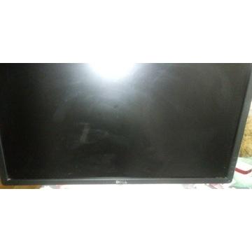 Monitor Dell uszkodzony matryca