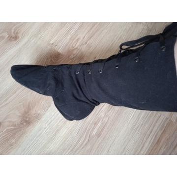 buty sznurowane do tańca