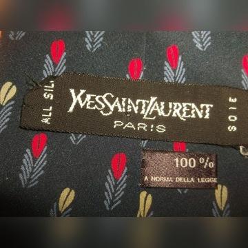 krawat Yves Saint Laurent Paris