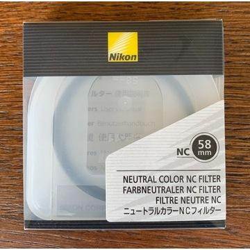 Nikon NC 58mm - filtr UV