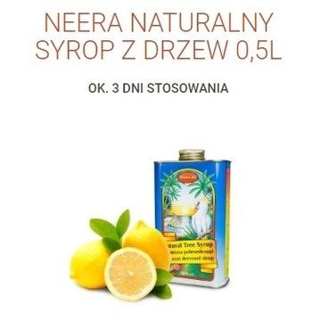 Syrop Neera 0,5 litra