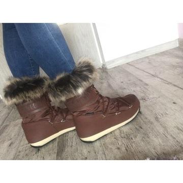 Moon Boot sniegowce futerko 40