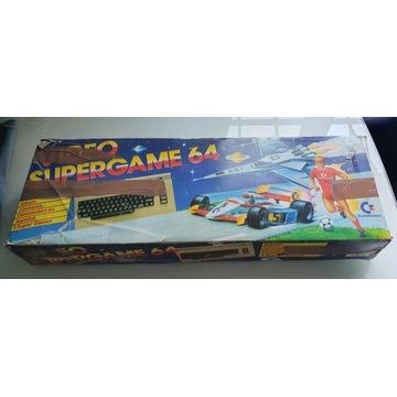 Commodore Video SuperGame 64 + Magnetofon, pudełko