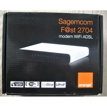 Modem WiFi ADSL Sagemcom Fast 2704