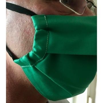 Szycie maska maseczka wielokrotnego użytku
