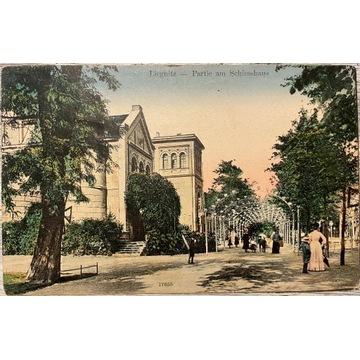 Legnica, Liegnitz, Partie am Schiesshaus, 1905 rok