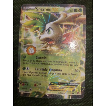 Karta pokemon shaymin 5/99