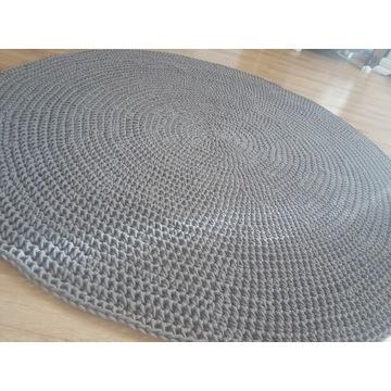 Dywan ze sznurka bawełnianego. Duże rozmiary.