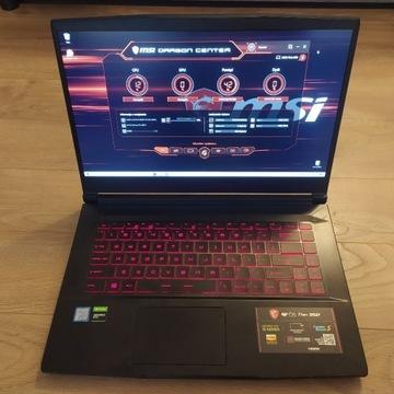 MSI GF65 9SD Thin Laptop Gamingowy/GTX 1660TI/Gw