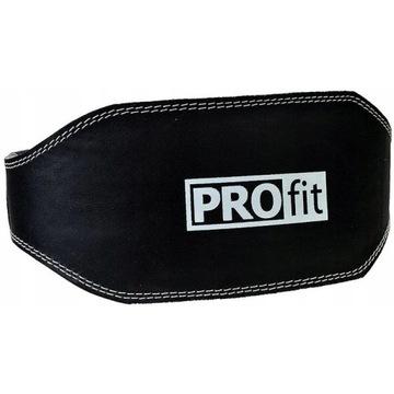 Pas kulturystyczny skórzany XL PROfit na siłownię