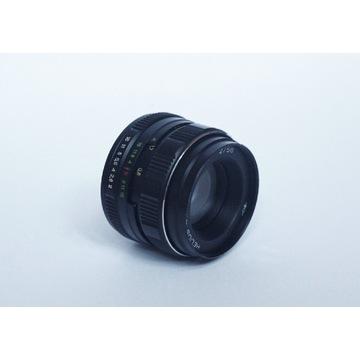 Obiektyw portretowy Helios 44M-4  f/2 58mm  m42