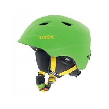 UVEX kask narciarski dziecięcy 52-54 cm