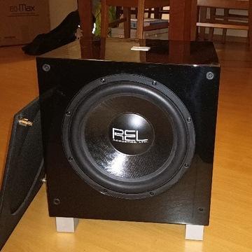 REL T9 subwoofer aktywny czarny poprzednik REL T9i
