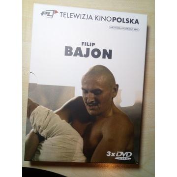 3x dvd Filip Bajon - telewizja kinopolska