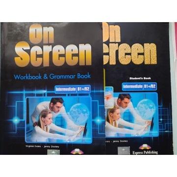 On Screen B1+/B2 podręcznik i ćwiczenia
