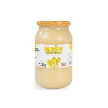 Miód rzepakowy 1,2kg z własnej pasieki