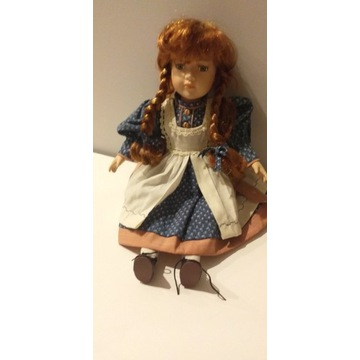 Vintage lalka porcelanowa znak twarzy niemiecka