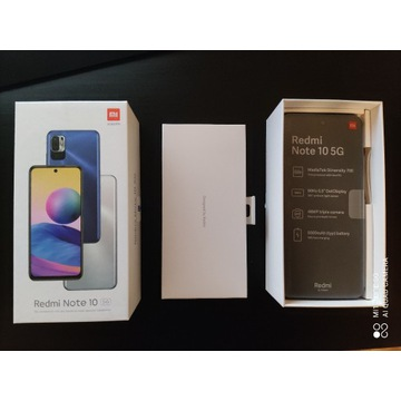 Smartfon Xiaomi Redmi Note 10 5G 4/64GB Nighttime