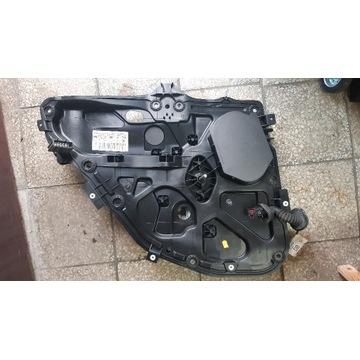 Ford Fusion, podnośnik szyby, wnęka drzwi, manual