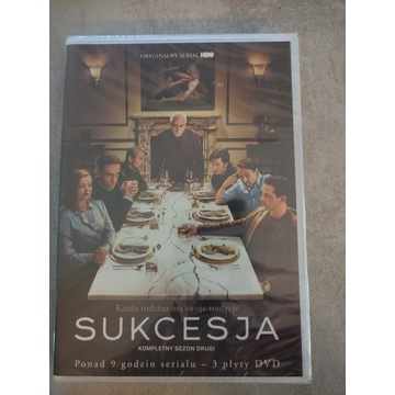 Sukcesja Sezon 2 DVD x 3