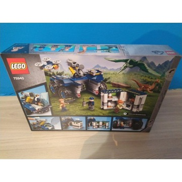 LEGO JURASSIC Galimim i Pteranodon 75940