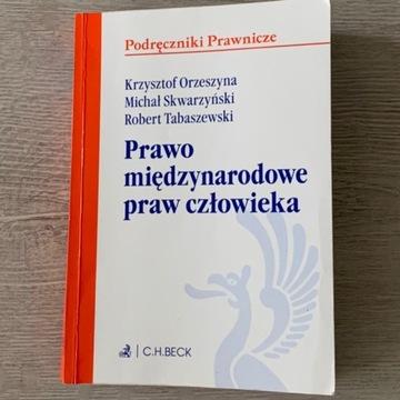 Książka ,,Prawo międzynarodowe praw człowieka''